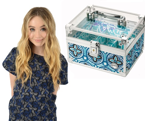 Sabrina makeup case giveaway