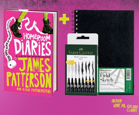 Homeroom diaries giveaway august