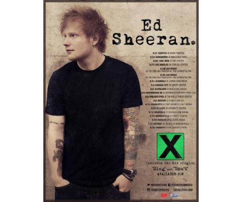 Ed sheeran giveaway
