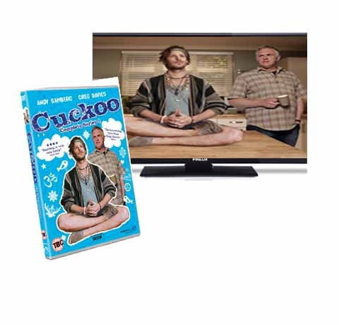 Cuckoo Series 1 on DVD sweepstakes