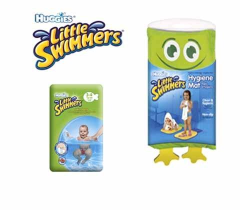 Win 2 x HUGGIES® Little Swimmers® swim kit sweepstakes