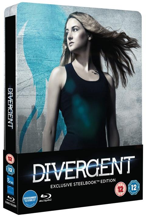 Divergent Steelbook Blu-rays sweepstakes