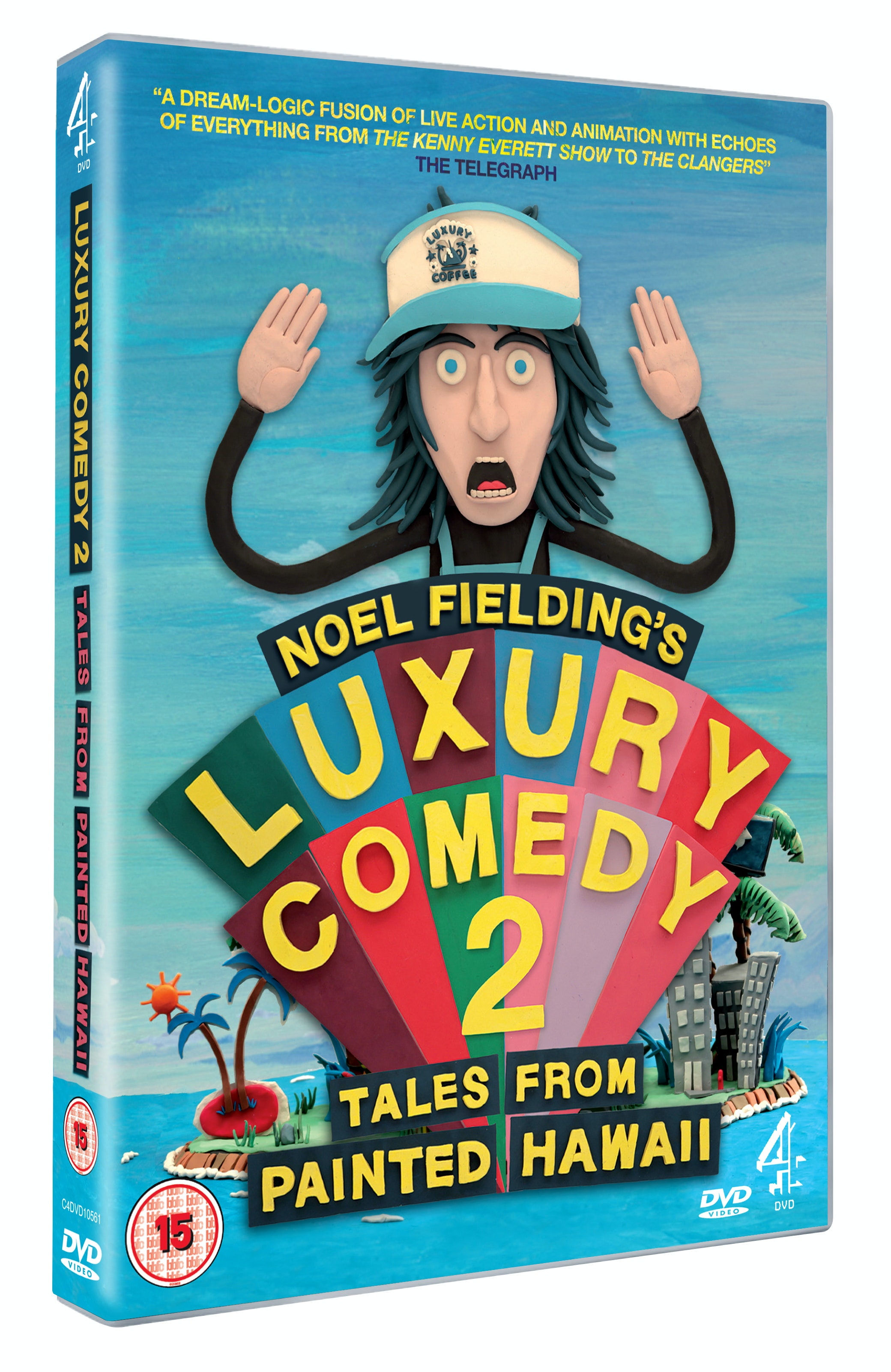 Noel Fielding's Luxury Comedy DVD sweepstakes