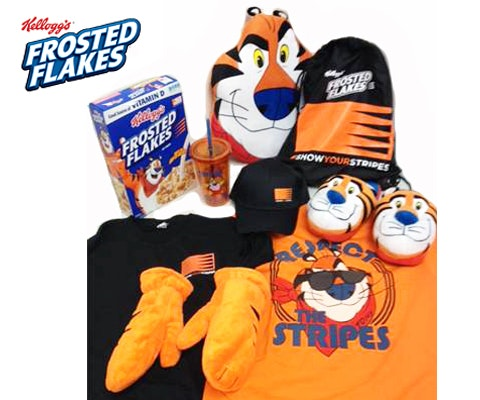 Show Your Stripes Prize from Frosted Flakes sweepstakes