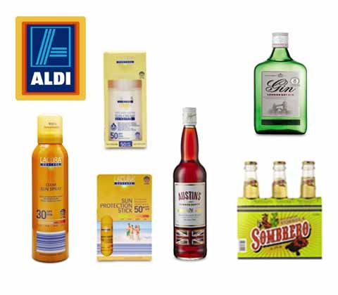 Win 5 x Aldi summer goody bags sweepstakes