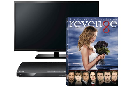 Revenge: Season 3 on DVD, plus a TV and Blu-ray Player sweepstakes