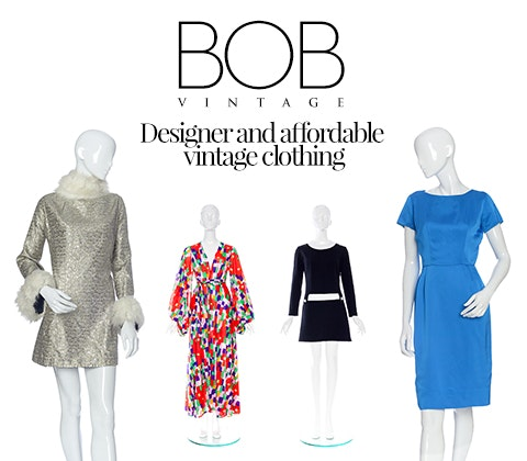 vintage dress from BOB by Dawn O'Porter sweepstakes