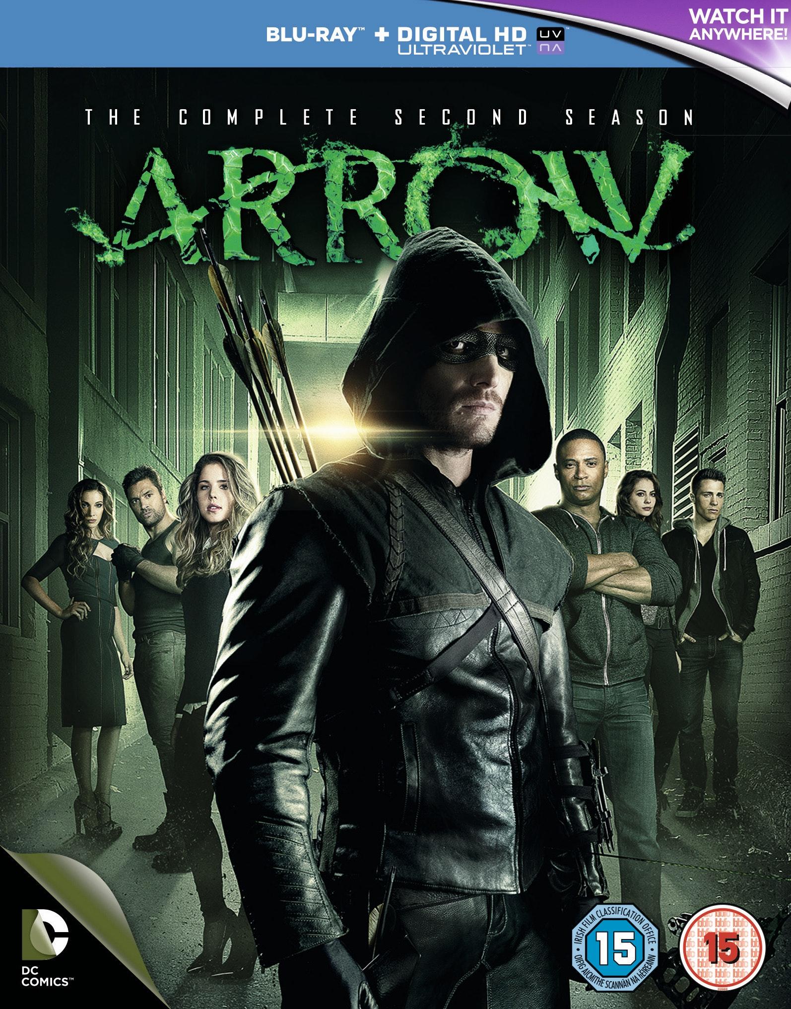 Arrow Blu-ray sweepstakes