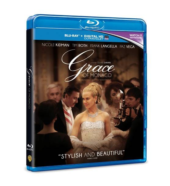 Grace of Monaco blu-ray sweepstakes