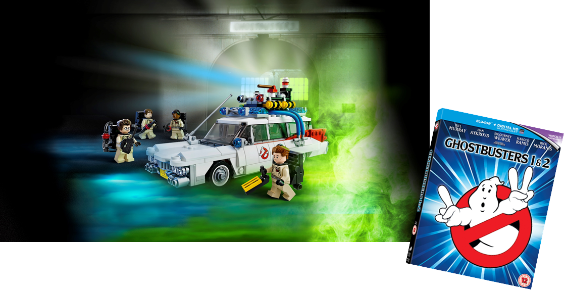 Ghostbusters and lego sweepstakes