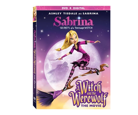 SABRINA - SECRETS OF A TEENAGE WITCH: A WITCH AND THE WEREWOLF - THE MOVIE on DVD sweepstakes
