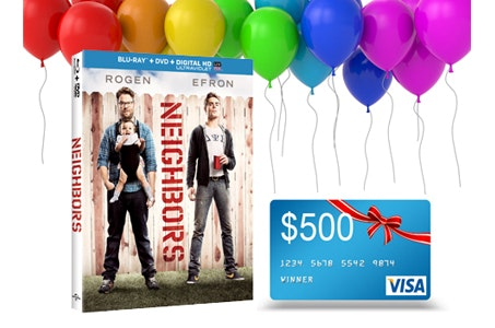 Neighbors and a 500 Party Gift Card! sweepstakes