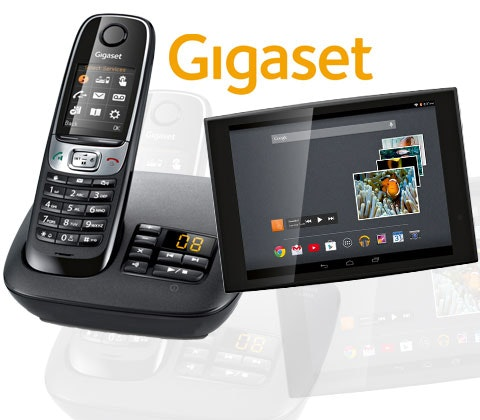 Gigaset tablet and home phone sweepstakes