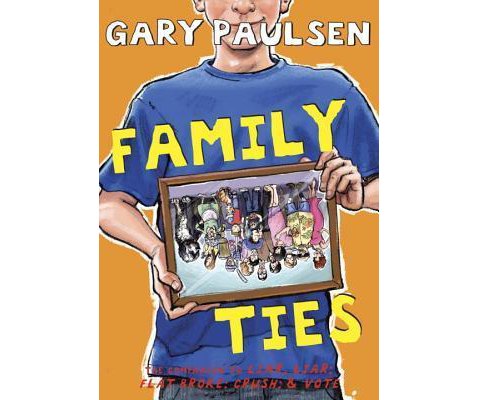 FAMILY TIES by Gary Paulsen sweepstakes