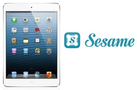 iPad Mini and a Sesame Gift Set sweepstakes
