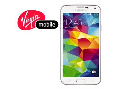 Samsung Galaxy S 5 from Virgin Mobile sweepstakes