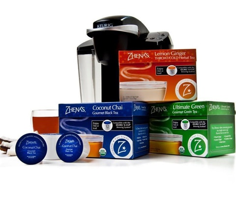 Keurig Machine and a Year Supply of ZHENAS Tea sweepstakes