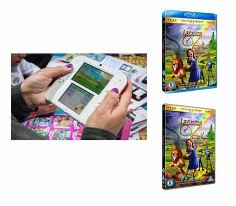 Win a Nintendo DS & Legends of Oz DVD & game sweepstakes