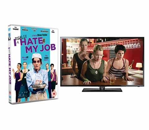 Win a Samsung 39in TV & I Really Hate My Job DVD sweepstakes