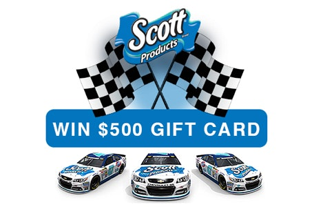 500 Gift Card from Scott Brand sweepstakes