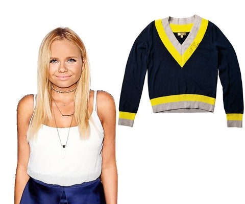 Alli Simpsons Signed Sweater sweepstakes