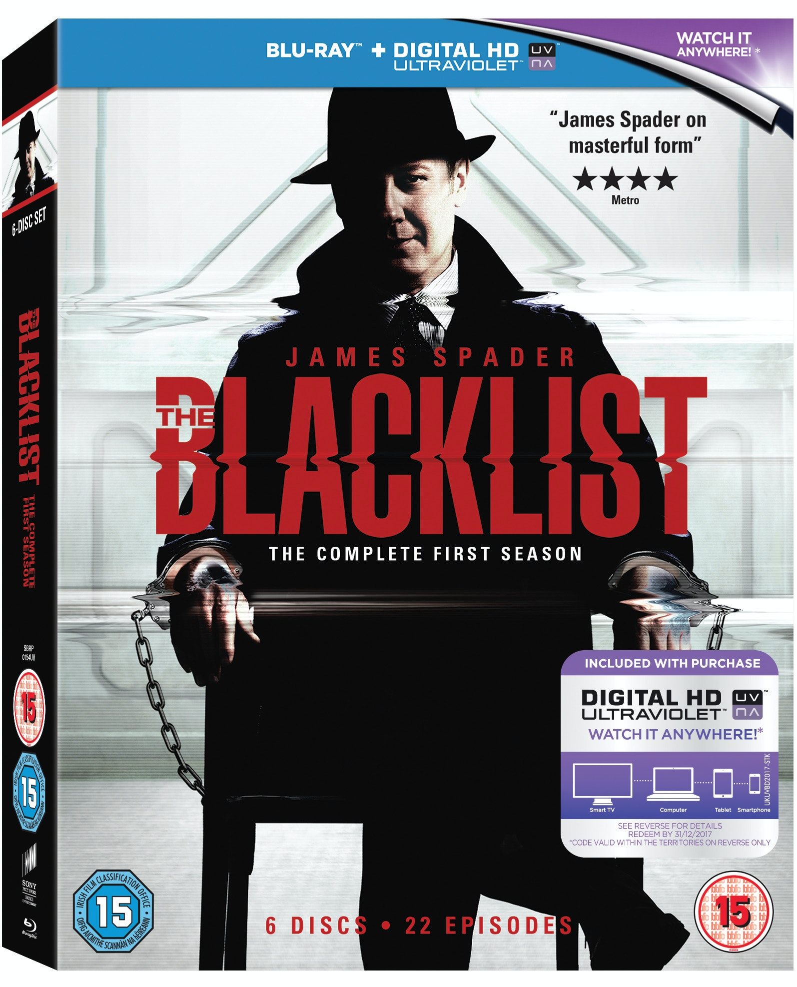 The Blacklist sweepstakes