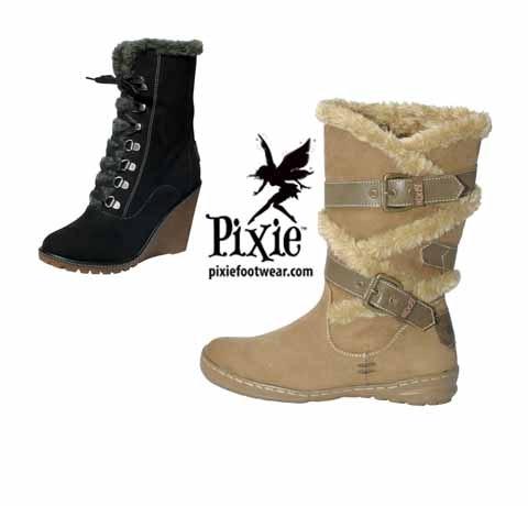 Pixie Footwear sweepstakes