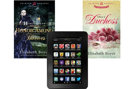 Kindle Fire HD from Crimson Romance sweepstakes