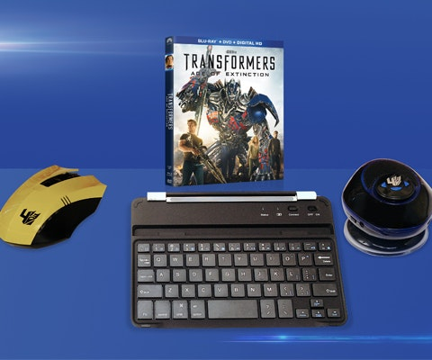 Transformers: Age of Extinction Prize Pack sweepstakes