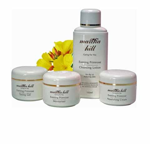 Martha Hill Evening Primrose Skincare  sweepstakes