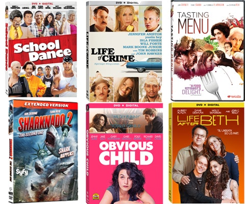 Comedy Movie Prize Package October sweepstakes