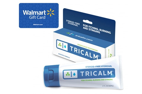 100 Wal-mart Gift Card from TriCalm sweepstakes