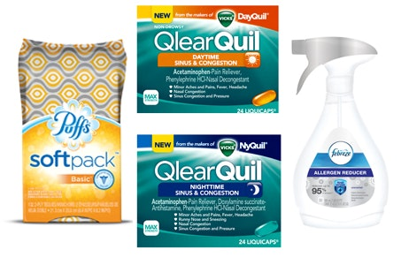 Fall allergy prize small