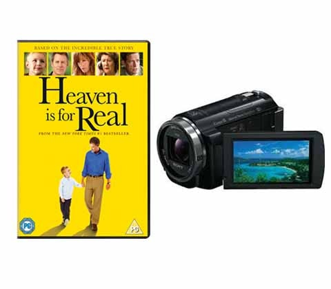 Win a Sony camcorder and DVD sweepstakes