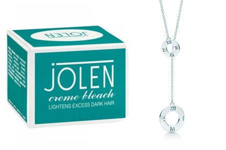 Tiffany Necklace from Jolen Creme Bleach sweepstakes