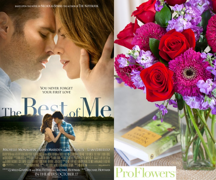 The Best of Me Prize Package Proflowers sweepstakes
