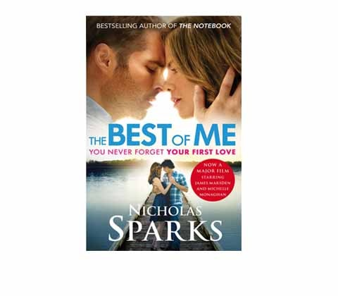Win 15 x The Best of Me by Nicholas Sparks sweepstakes