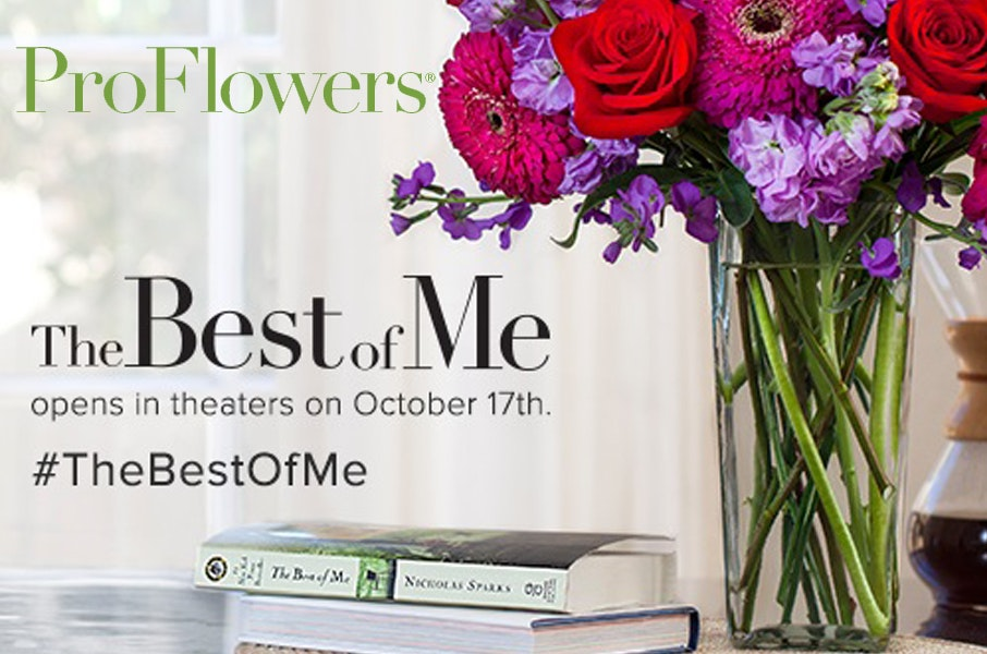 "ProFlowers ""The Best of Me"" Bouquet sweepstakes"