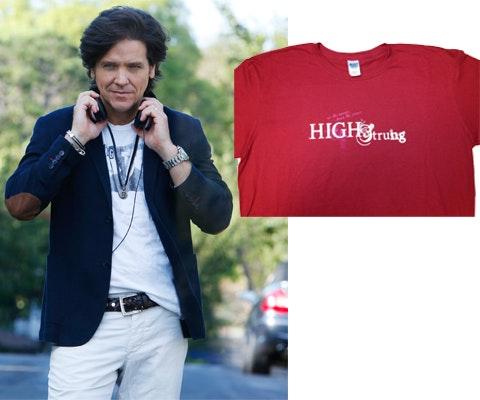 High Strung T-shirt sweepstakes