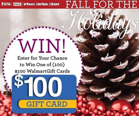 100 Walmart Gift Card sweepstakes
