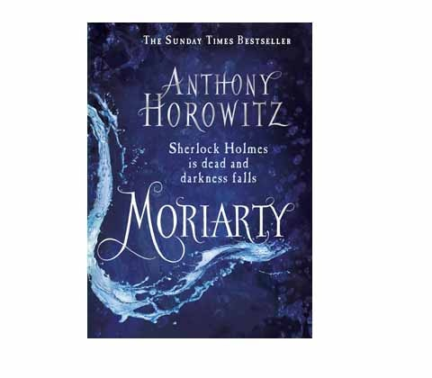 Win a signed limited edition copy of Moriarty sweepstakes