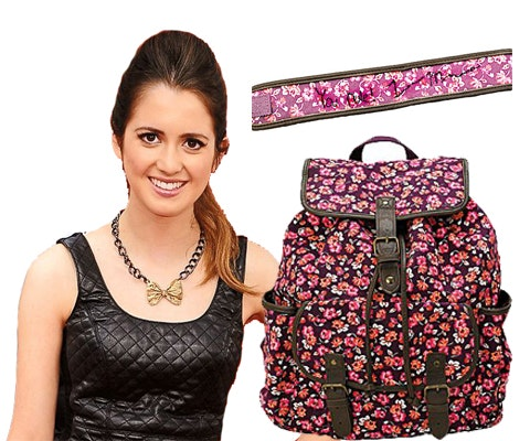 Laura Marano's Signed Backpack sweepstakes