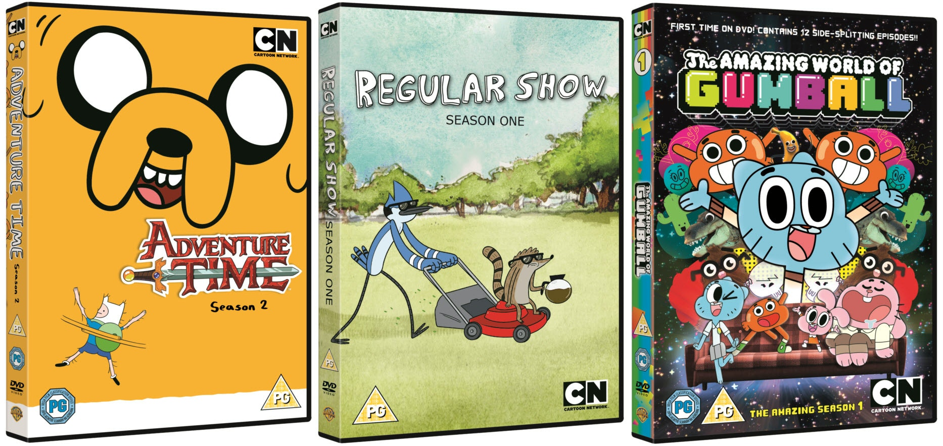Adventure Time, Regular Show and The Amazing World of Gumball sweepstakes
