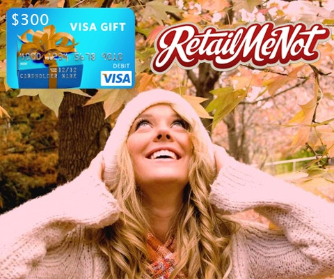 300 Gift Card from RetailMeNot.com sweepstakes