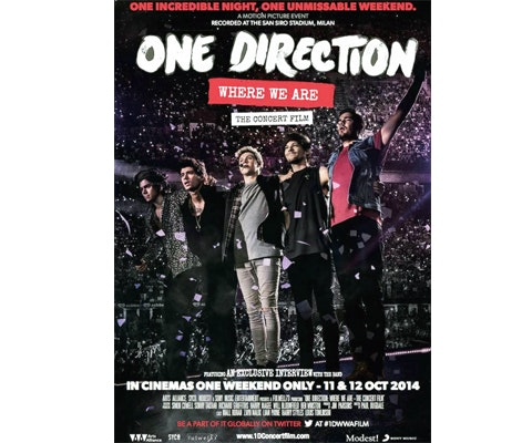 One direction dvd giveaway