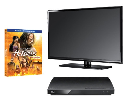 Hercules TV Blu-ray Prize sweepstakes