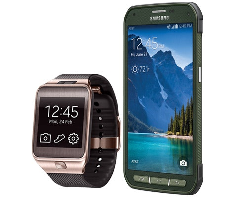 Samsung Galaxy S 5 Active and Gear 2 sweepstakes