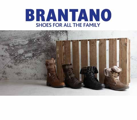 Win 5 x £100 Brantano shoes vouchers sweepstakes