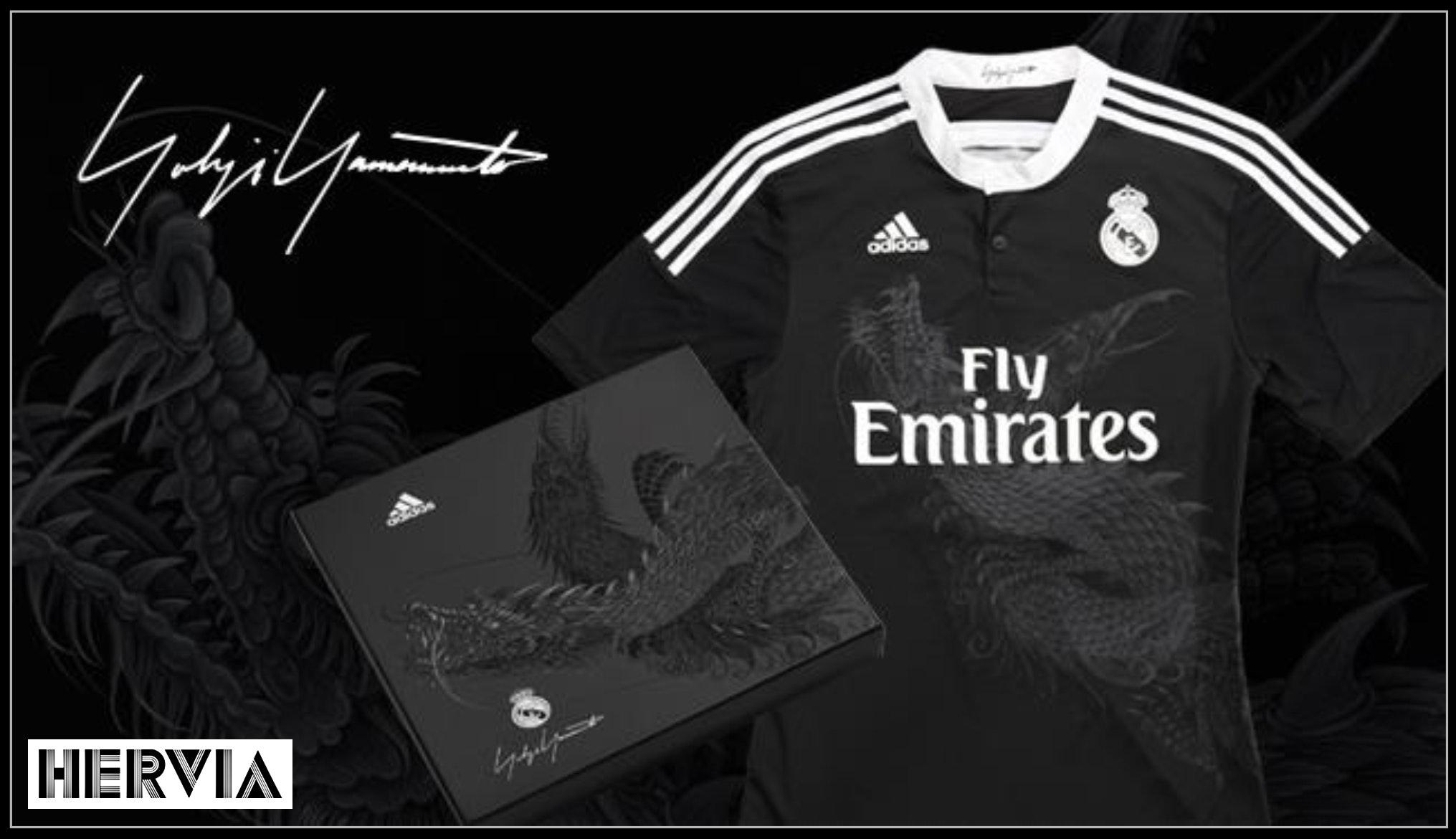 Real Madrid Football Shirt Designed by Yohji Yamamoto sweepstakes