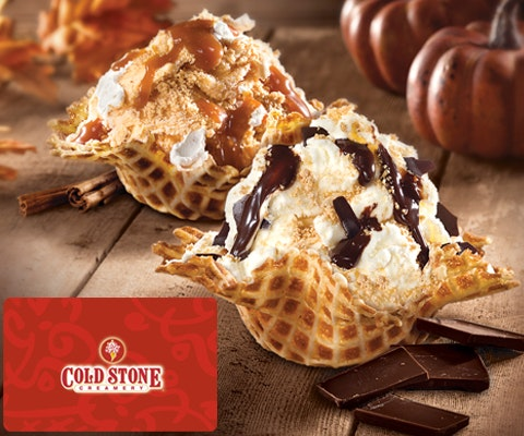 Win cold stone gift card